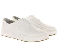 Слипоны для женщин Skechers 34320 WHT модная обувь, 2017