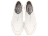 Слипоны для женщин Skechers 34320 WHT купить обувь, 2017