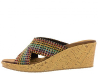 Шлёпанцы для женщин Skechers 38554 MLT купить обувь, 2017