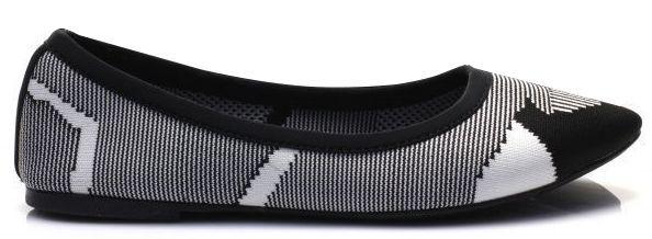 Балетки для женщин Skechers 48487 BKW стоимость, 2017