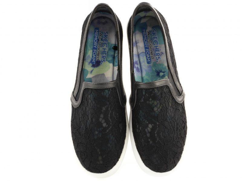 Слипоны для женщин Skechers 807 BLK модная обувь, 2017