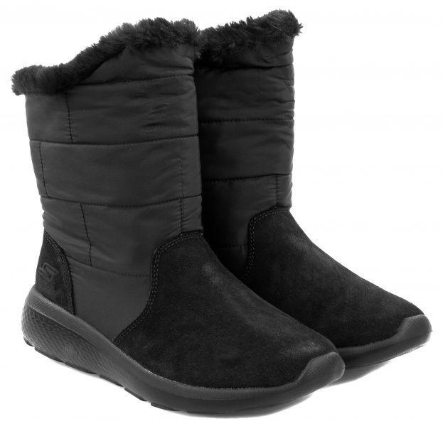 Купить Сапоги для женщин Skechers KW4083, Черный