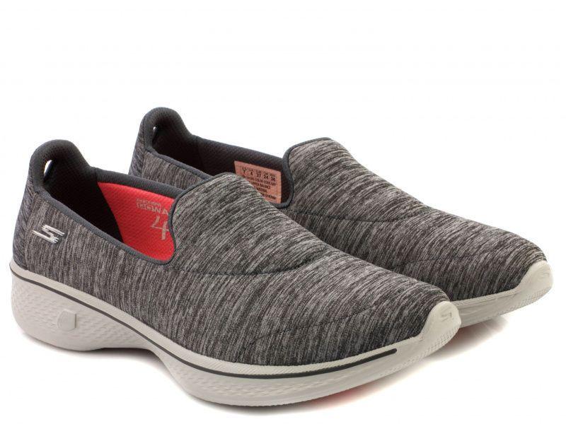 Слипоны для женщин Skechers 14165 GRY модная обувь, 2017