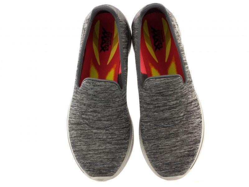 Слипоны для женщин Skechers 14165 GRY купить обувь, 2017