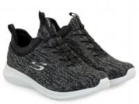 Кроссовки для женщин Skechers 12831 BKGY брендовая обувь, 2017