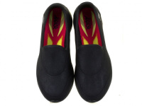Слипоны для женщин Skechers 14166 BBK купить обувь, 2017
