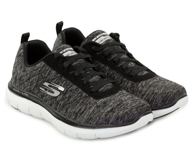 Кроссовки для женщин Skechers 12753 BKW купить обувь, 2017