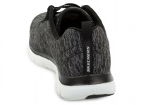 Кроссовки для женщин Skechers 12753 BKW брендовая обувь, 2017