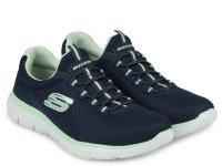 Кроссовки для женщин Skechers 12980 NVAQ брендовая обувь, 2017