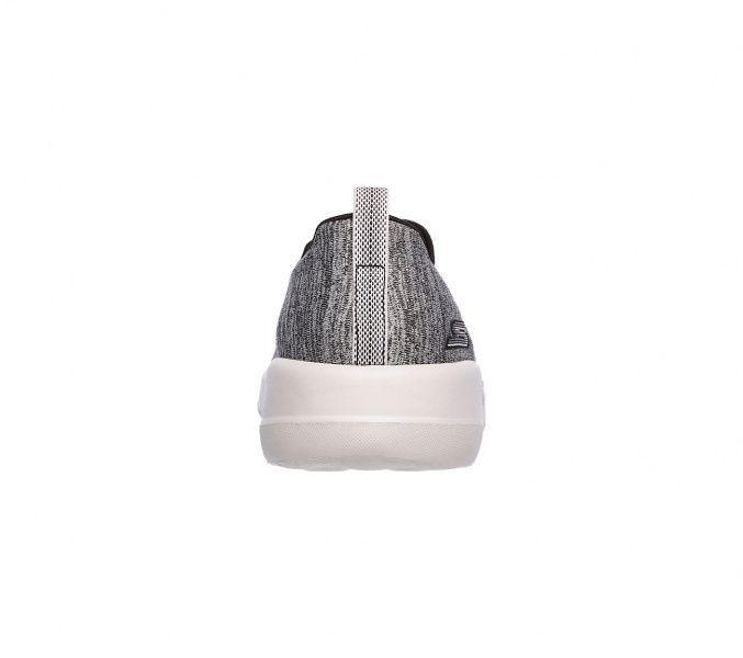Слипоны для женщин Skechers GO 15611 BKGY купить обувь, 2017