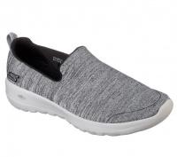 Слипоны для женщин Skechers GO 15611 BKGY размеры обуви, 2017