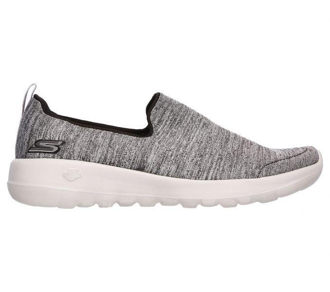 Слипоны для женщин Skechers GO 15611 BKGY брендовая обувь, 2017