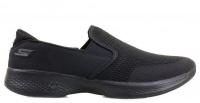 Слипоны для женщин Skechers GO 14927 BBK купить обувь, 2017