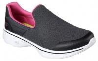 Слипоны для женщин Skechers GO 14937 BKHP размеры обуви, 2017