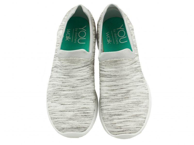 Слипоны для женщин Skechers YOU KW4327 брендовая обувь, 2017