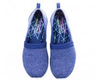 Слипоны женские Skechers SPORT ACTIVE 23436 NVY модная обувь, 2017