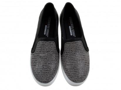 Слипоны женские Skechers STREET 801 BLK купить обувь, 2017