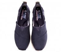 Слипоны женские Skechers BOBS 34110 NVY размеры обуви, 2017