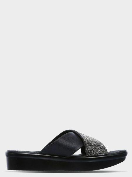 Купить Шлёпанцы женские Skechers CALI KW4416, Черный