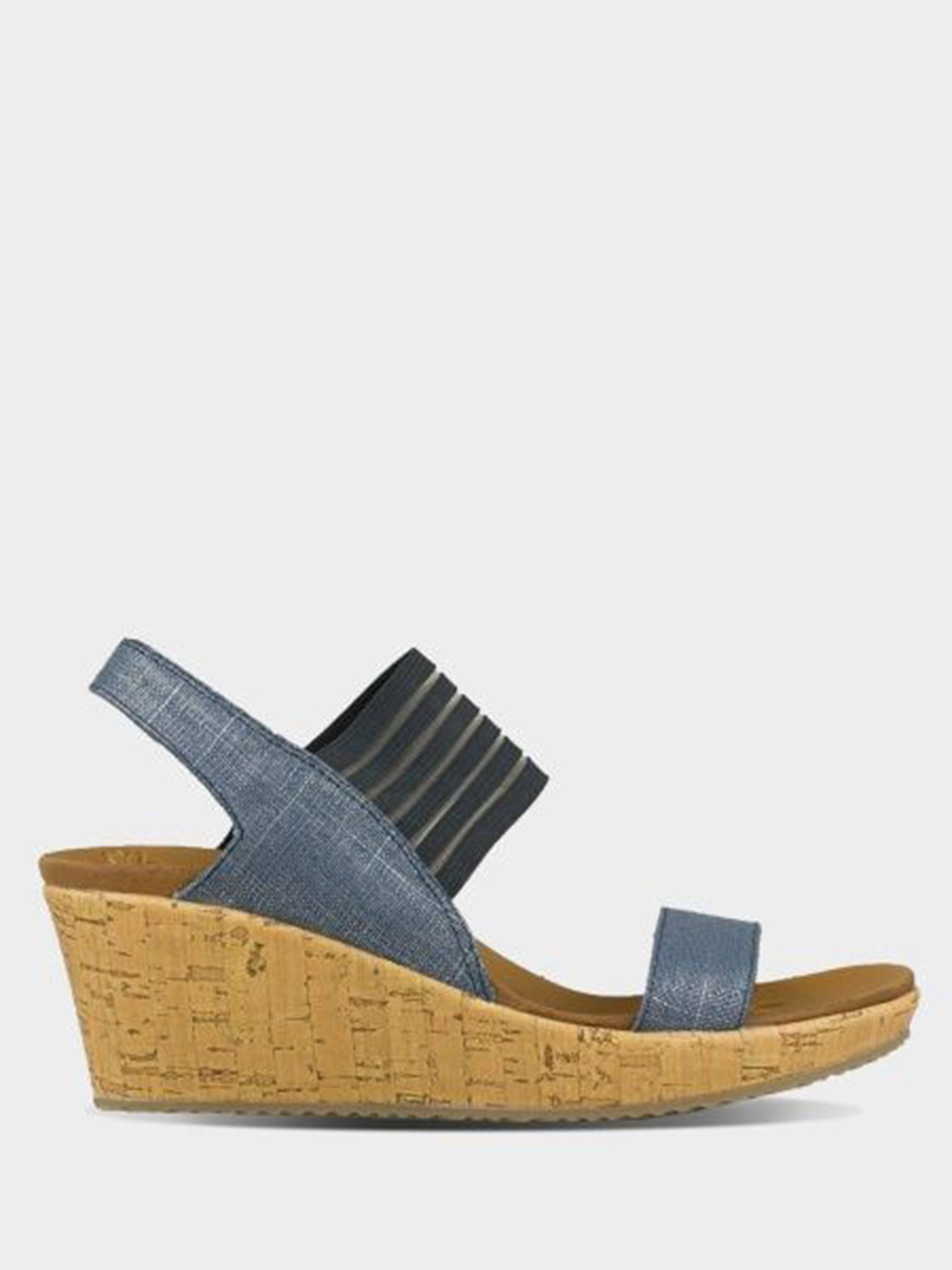 Купить Босоножки женские Skechers CALI KW4419, Синий