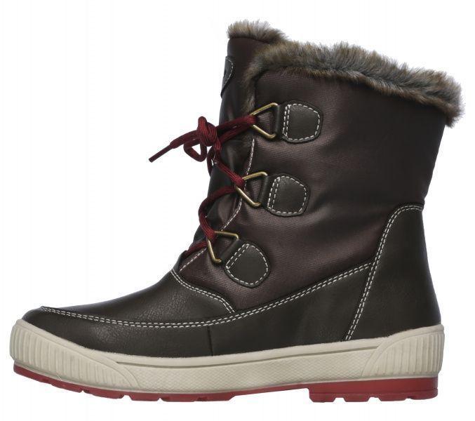 Сапоги для женщин Skechers 48647 CHOC брендовая обувь, 2017