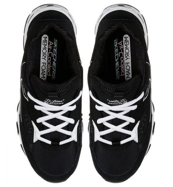 Кросівки  для жінок Skechers D'Lites 12976 BKW фото, купити, 2017