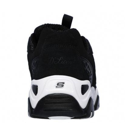 Кросівки  для жінок Skechers D'Lites 12976 BKW продаж, 2017