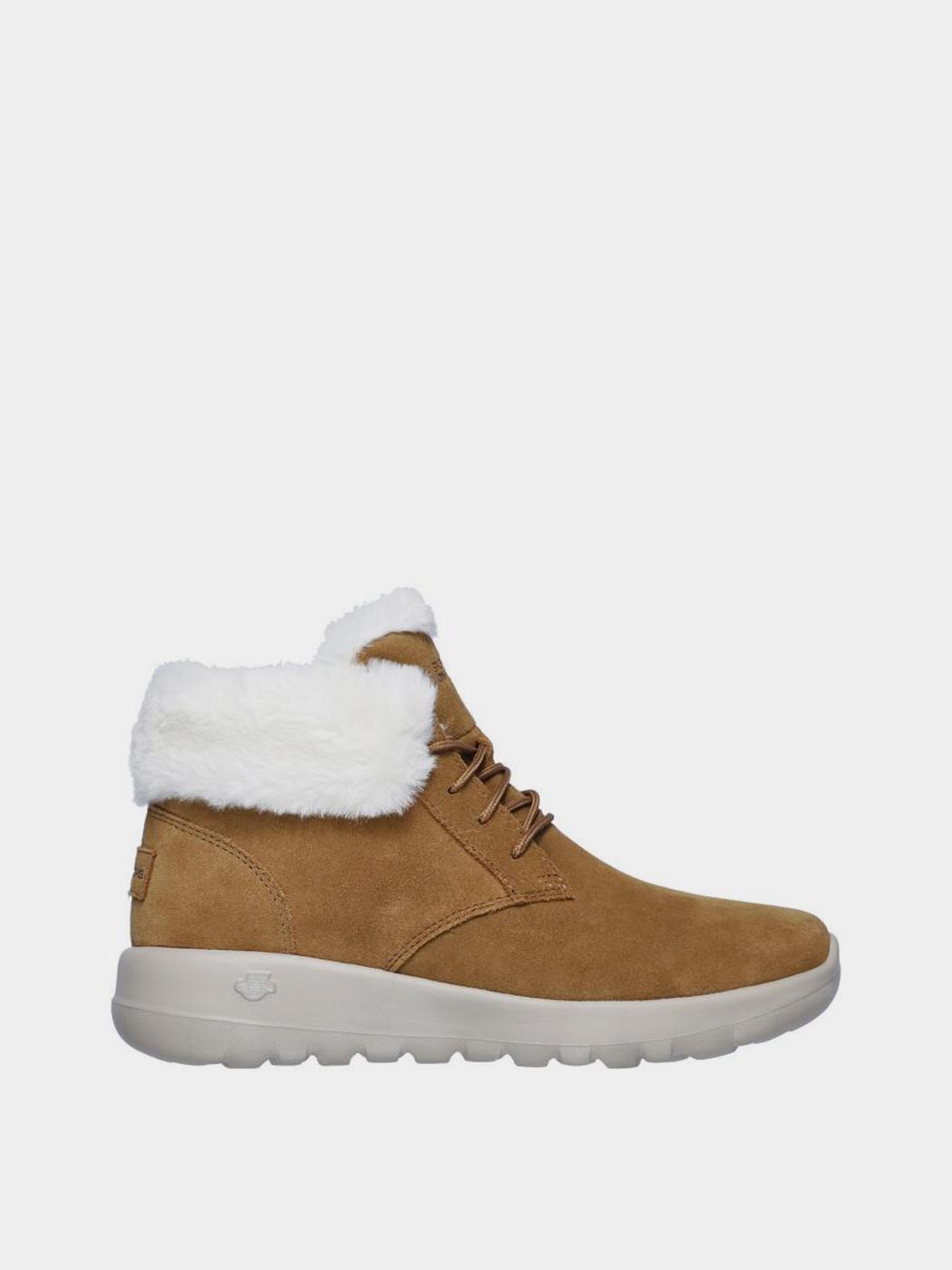 Купить Ботинки женские Skechers KW4615, Коричневый