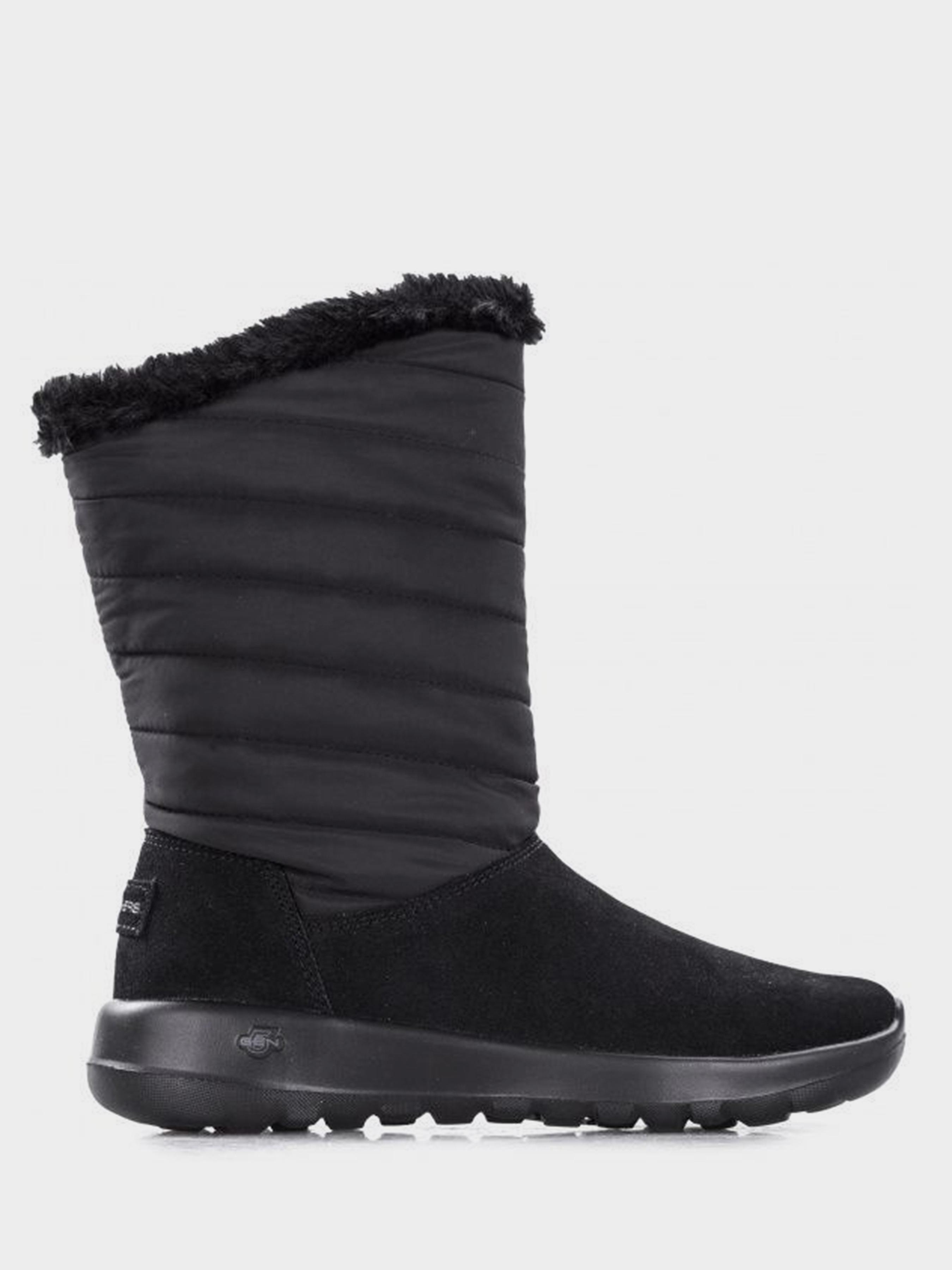Купить Сапоги для женщин Skechers KW4658, Черный