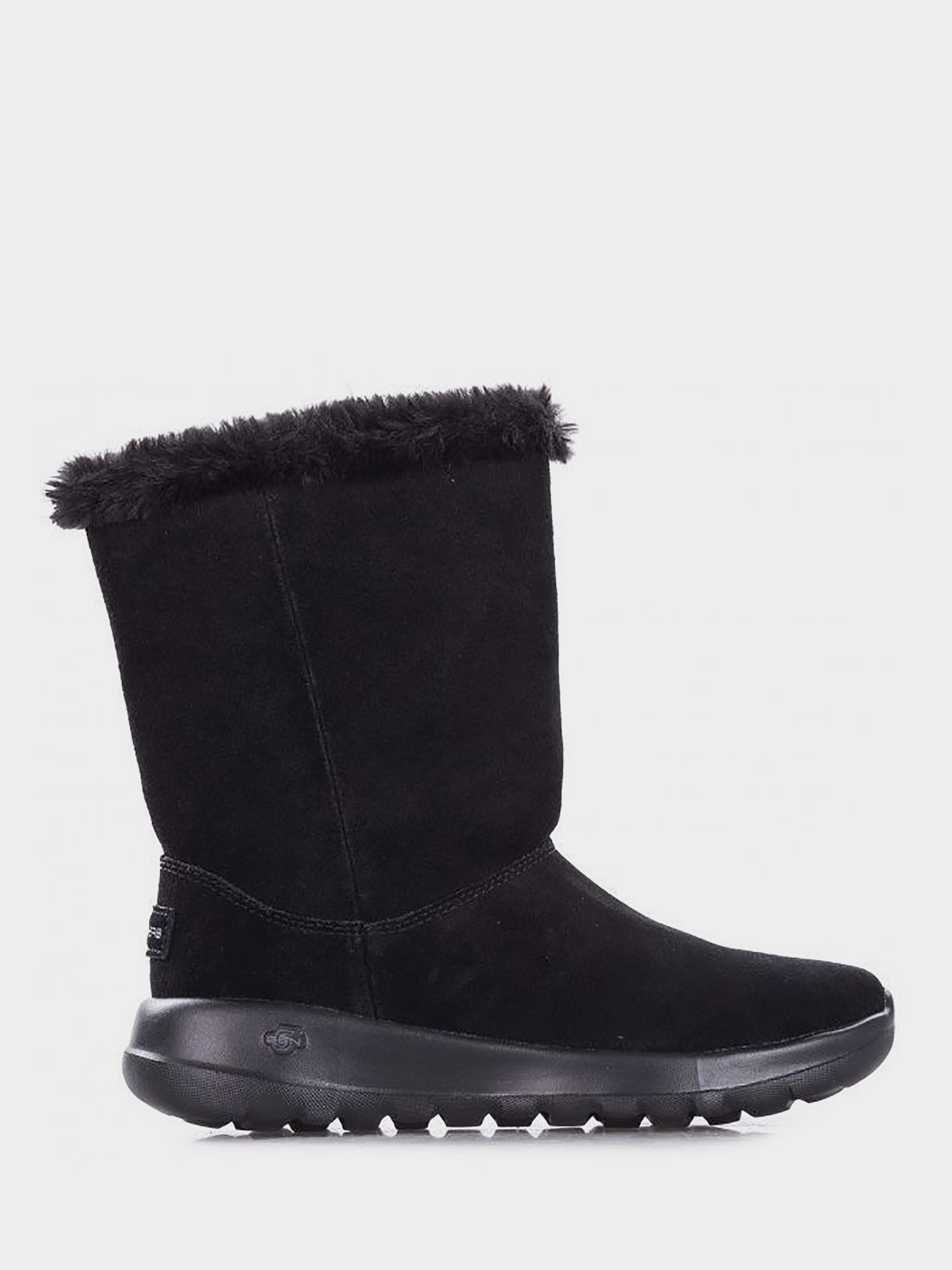 Сапоги для женщин Skechers KW4664, Черный  - купить со скидкой