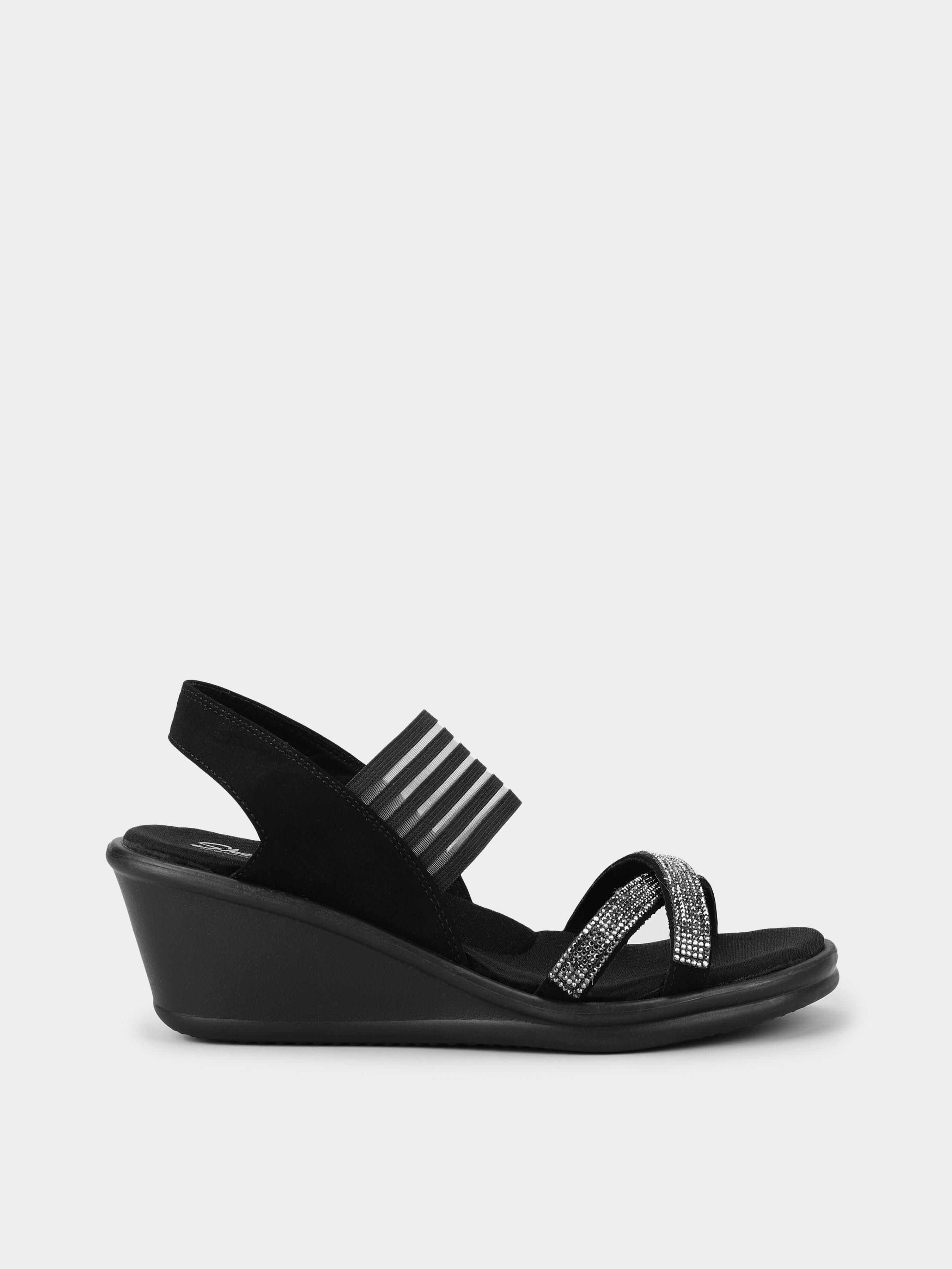 Купить Босоножки женские Skechers KW4678, Черный