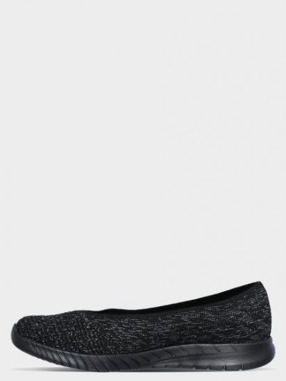 Балетки  для жінок Skechers 23635 BBK модне взуття, 2017