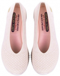 Балетки  для жінок Skechers 23635 NAT купити взуття, 2017