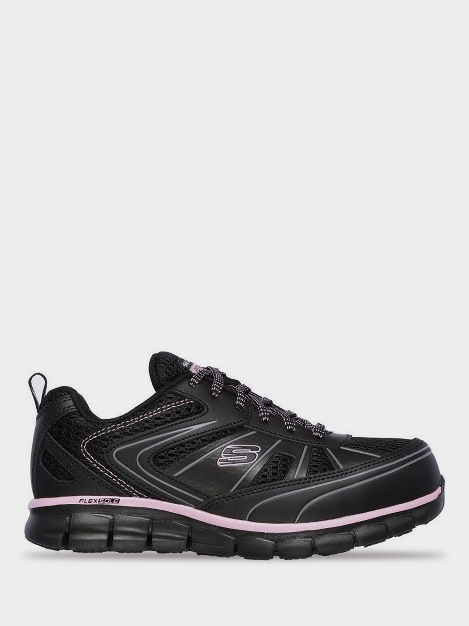 Кросівки  для жінок Skechers Work 77207 BKPK замовити, 2017