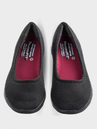 Балетки  для жінок Skechers Work 77247 BLK замовити, 2017