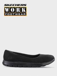 Балетки  для жінок Skechers Work 77247 BLK розміри взуття, 2017