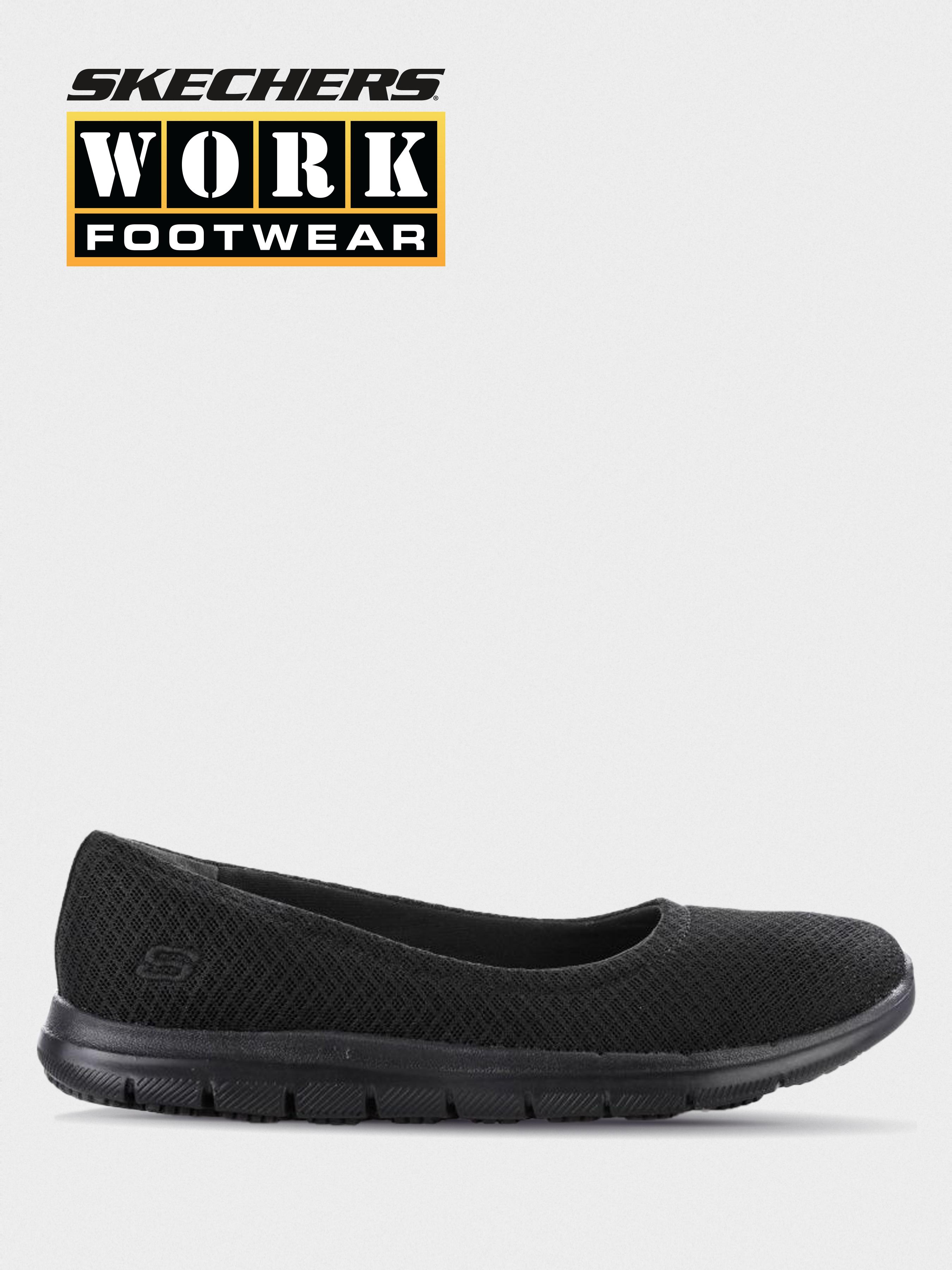 Купить Балетки для женщин Skechers KW4778, Черный