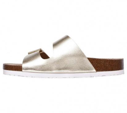 Шльопанці  для жінок Skechers 41077 GLD купити взуття, 2017