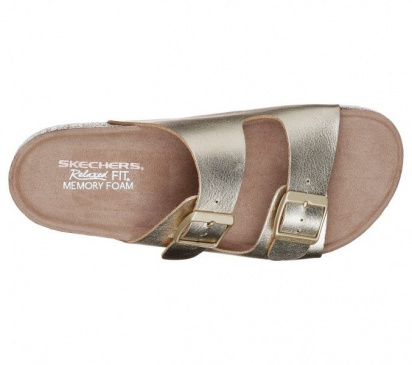 Шльопанці  для жінок Skechers 41077 GLD розміри взуття, 2017