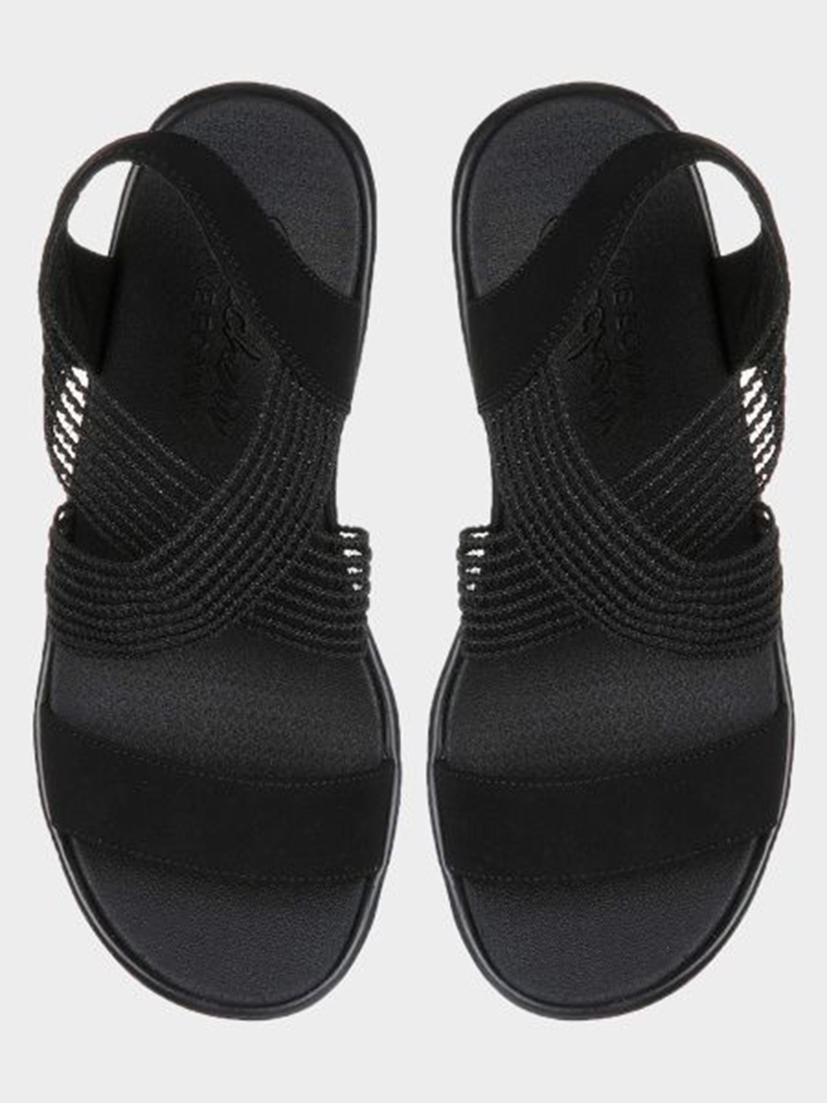 Босоножки для женщин Skechers 33473 BBK размеры обуви, 2017