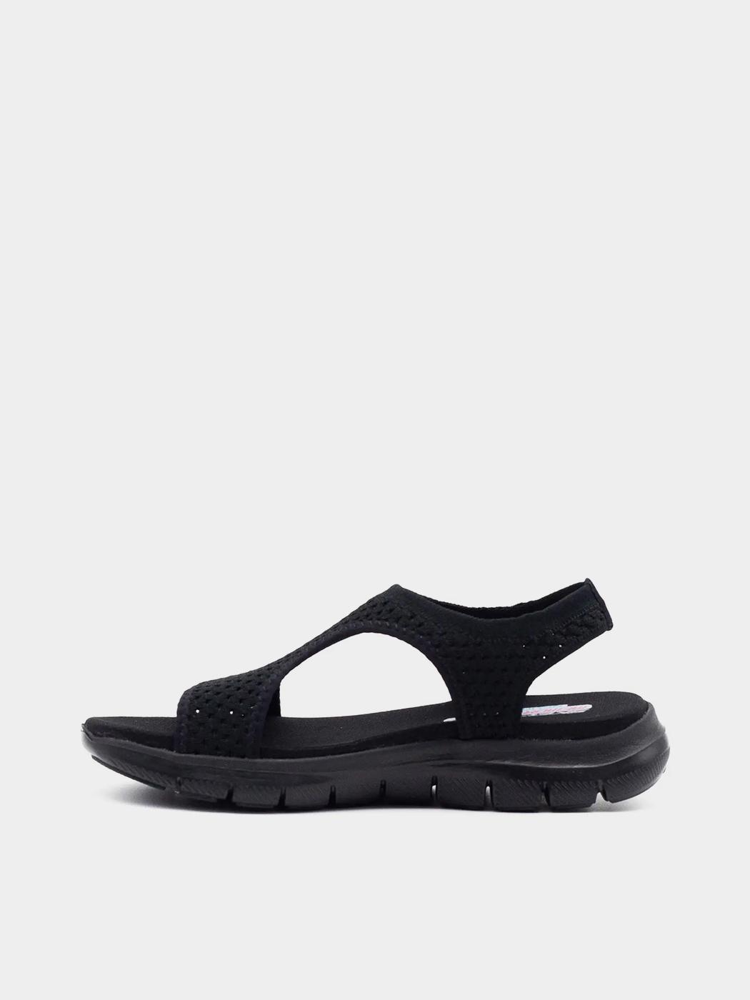 Сандалі  для жінок Skechers 31674 BBK модне взуття, 2017