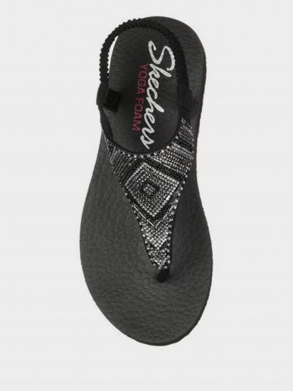 Босоніжки  для жінок Skechers 31769 BLK розміри взуття, 2017