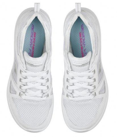 Кросівки  для жінок Skechers 12995 WHT купити взуття, 2017