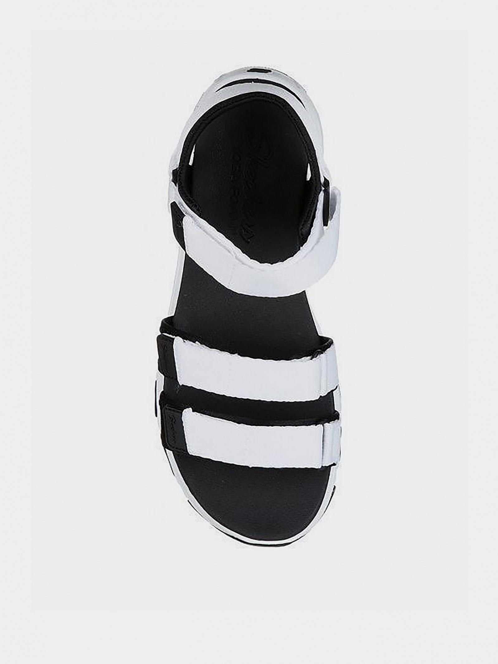Сандалі  для жінок Skechers 31514 WBK брендове взуття, 2017