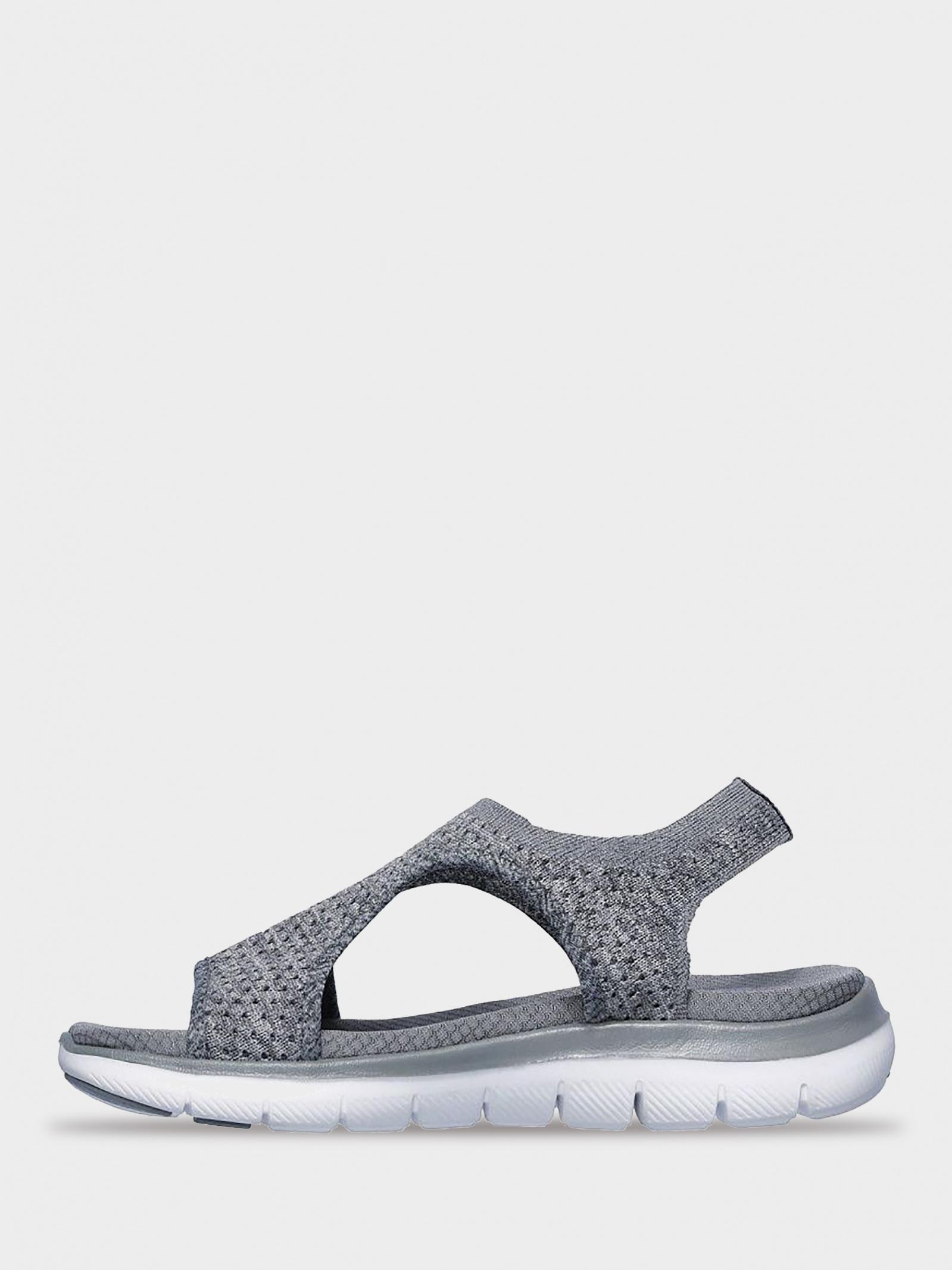 Сандалі  для жінок Skechers 31674 GRY модне взуття, 2017