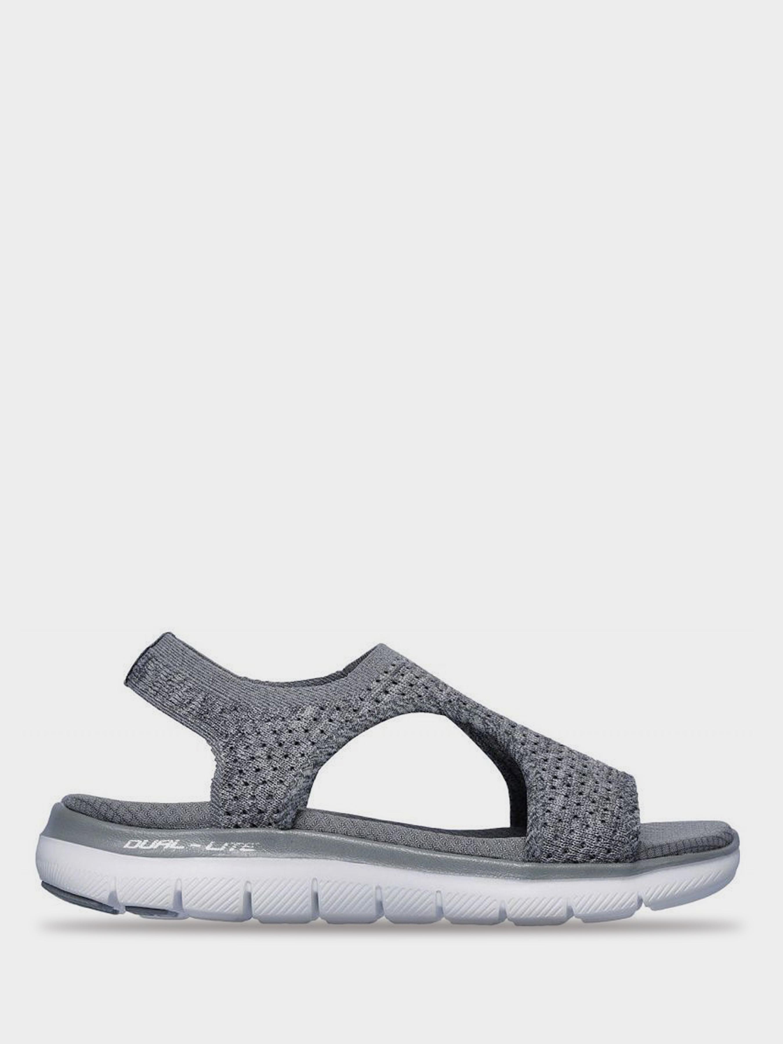 Купить Сандалии женские Skechers KW5020, Серый