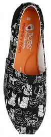 Сліпони  для жінок Skechers 31334 BKW брендове взуття, 2017