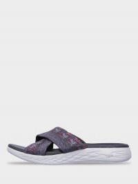 Шльопанці  для жінок Skechers 15306 GRY купити взуття, 2017