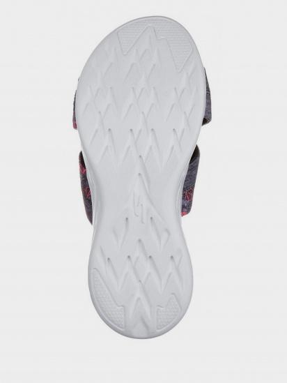Шльопанці  для жінок Skechers 15306 GRY брендове взуття, 2017