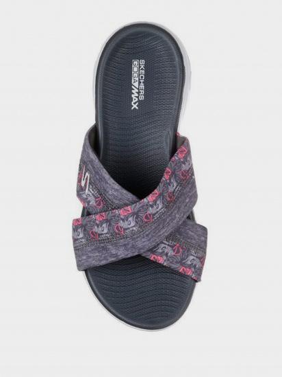 Шльопанці  для жінок Skechers 15306 GRY розміри взуття, 2017